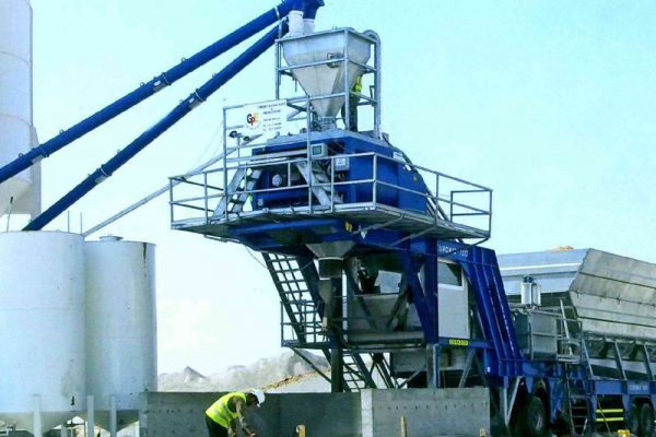 Mobile Concrete Batching Plant 1