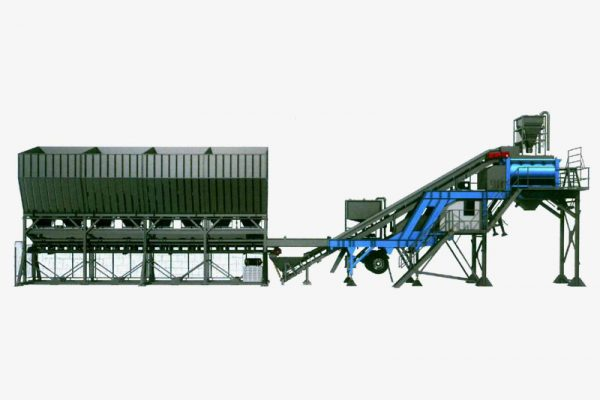 Mobile Concrete Batching Plant 2