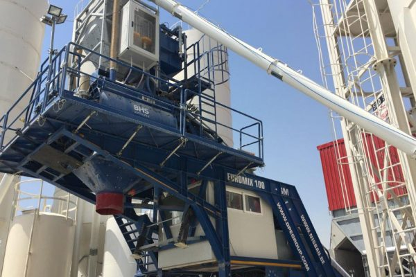 Mobile Concrete Batching Plant 5