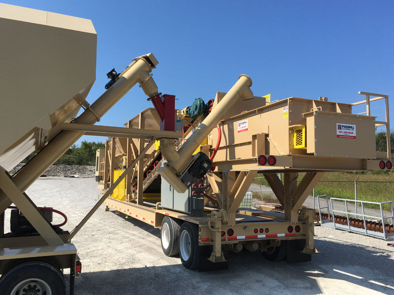 Pug Mill Manufacturers And Systems Soil Stabilization